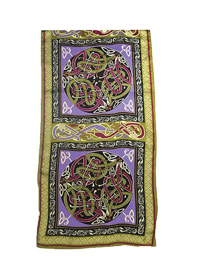 100 silk celtic scarves