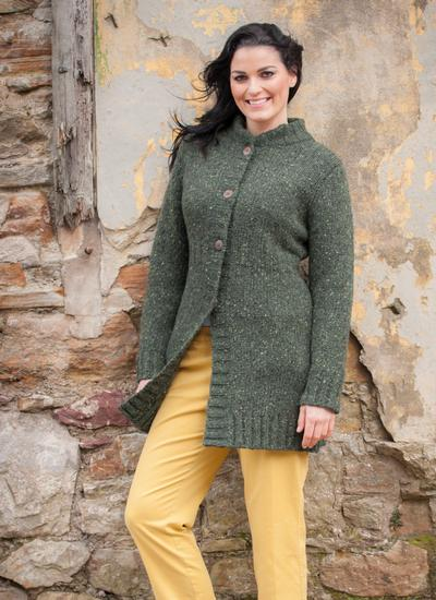 Donegal Tweed Cardigan