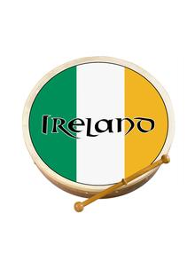 Tri Color Bodhran: 2 Sizes