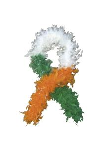 Tri Colour Ireland Feather Boa