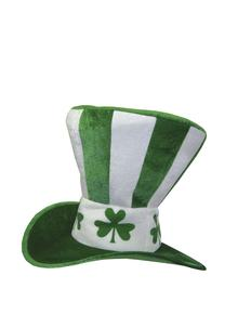 Supersize Stripe & Shamrock Hat