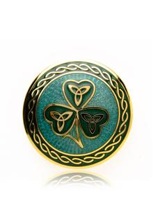 Shamrock Brooch