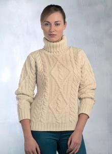 Ladies Aran polo
