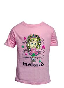 Irish Dancer Kiddies T-Shirt