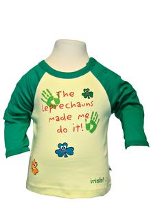 The Leprechauns made me do it! - Baby Long Sleeve