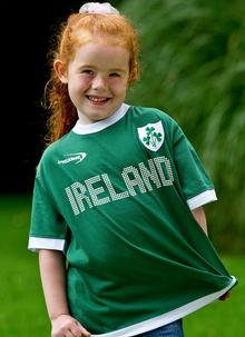 Childrens Ireland Sports T-Shirt