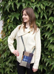 Patchwork Shoulder Purse