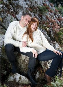 Ladies & Mens Traditional Aran Sweater