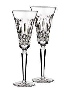 Waterford Crystal I Love Lismore Toasting Flutes