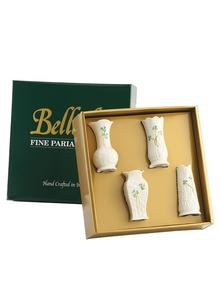 Belleek Set Of Fou...