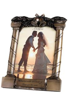 Genesis Bronze Wedding Frame
