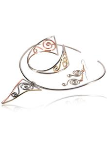 Celtic Spiral Mixed Jewellery Set