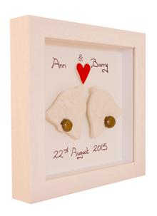 Personalized Wedding Bells Frame