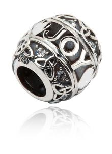 Silver Celtic Trinity Joy Bead