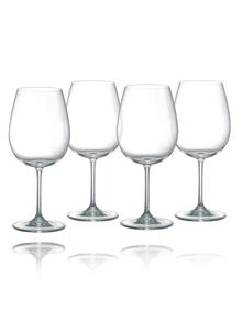 Waterford Crystal Vintage Deep Red Wine Glass Set of 4