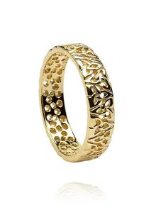 Ladies 14K Gold Tr...