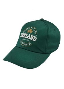 Where The Craic Is Mighty Ireland Baseball Cap