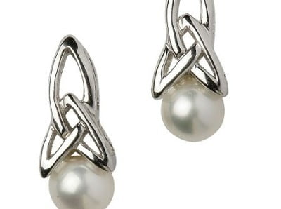 Trinity Pearl Earrings Were US$55 Now US$27.50