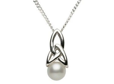Trinity Pearl Pendant Was US$55 Now US$27.50