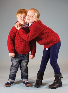 Browse Our Extensive Range of Premium Quality Kids' Aran Knitwear...