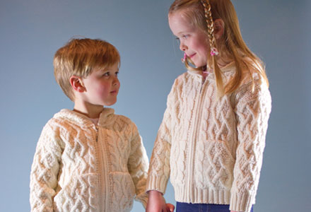 Browse Our Extensive Range of Kids Aran Sweaters