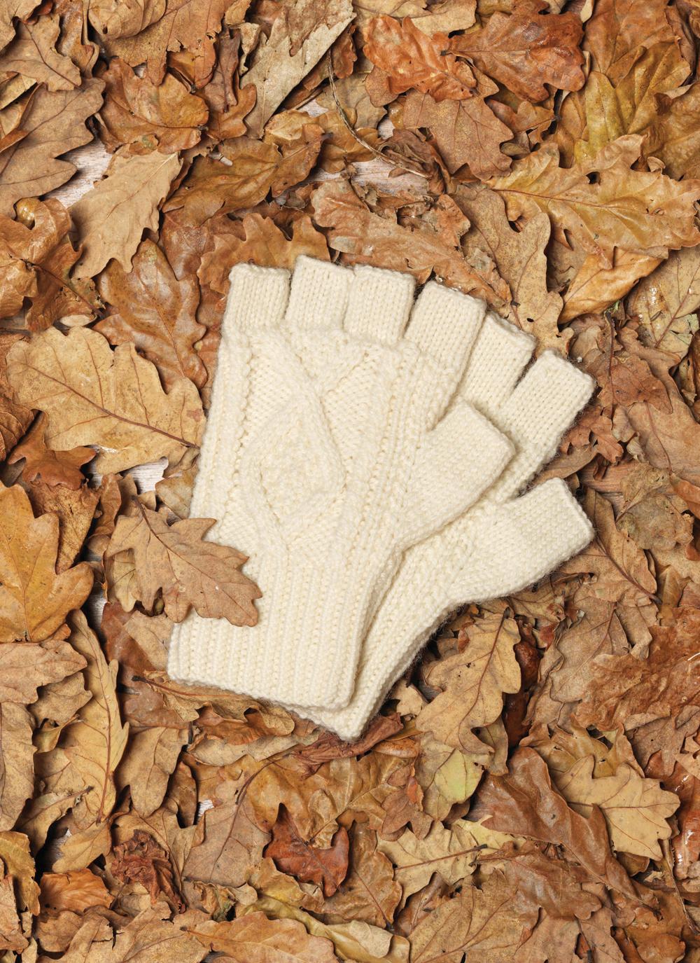Hand-Knit Fingerless Gloves | Blarney