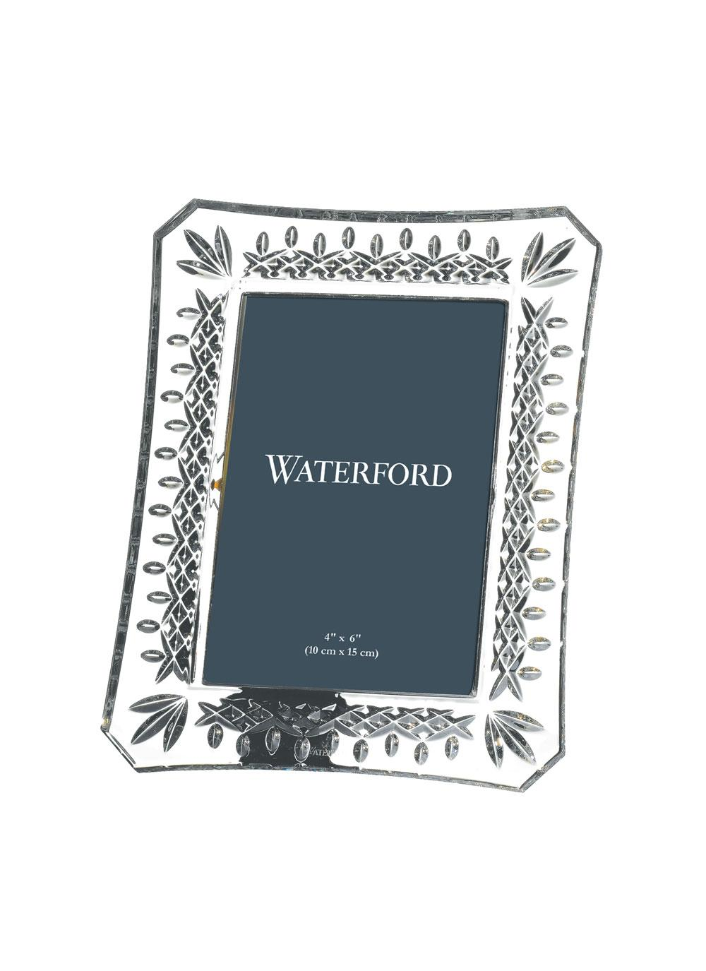 Lismore Picture Frame 4 X 6 Waterford Crystal