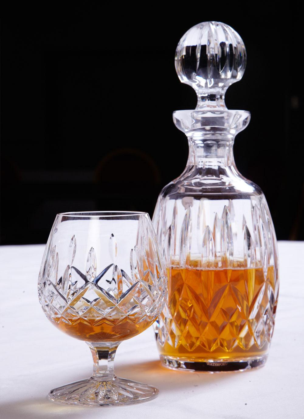 Waterford crystal lismore brandy balloon blarney - Waterford cognac glasses ...