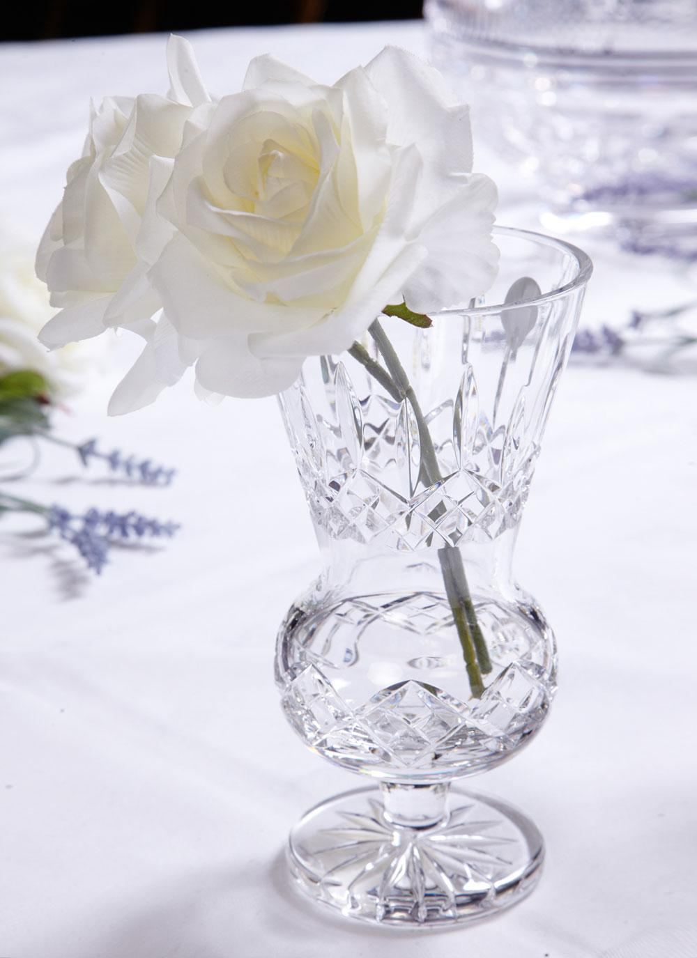 Waterford crystal lismore thistle vase blarney waterford crystal lismore thistle vase floridaeventfo Image collections