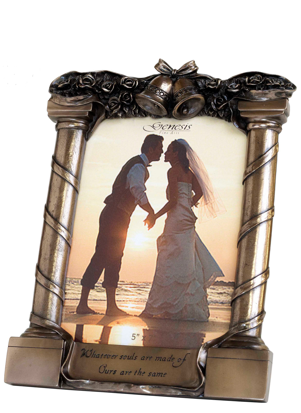 Irish gifts picture and photo frames blarney bronze wedding frame bronze wedding frame jeuxipadfo Image collections