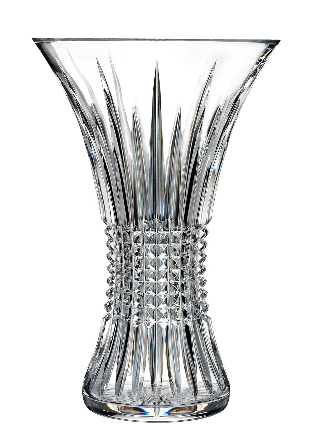 Waterford crystal lismore diamond 12 inch vase blarney waterford crystal lismore diamond 12 vase reviewsmspy