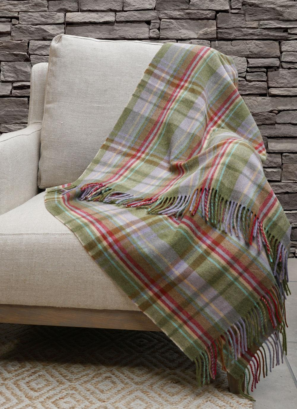 Blarney Lambswool Throw Blarney