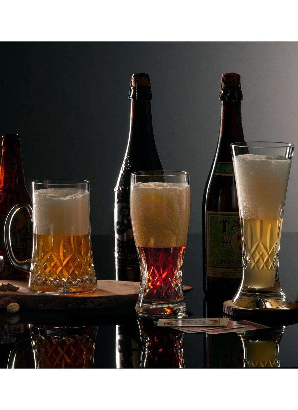 Waterford Crystal Lismore Connoisseur Beer Mug Blarney