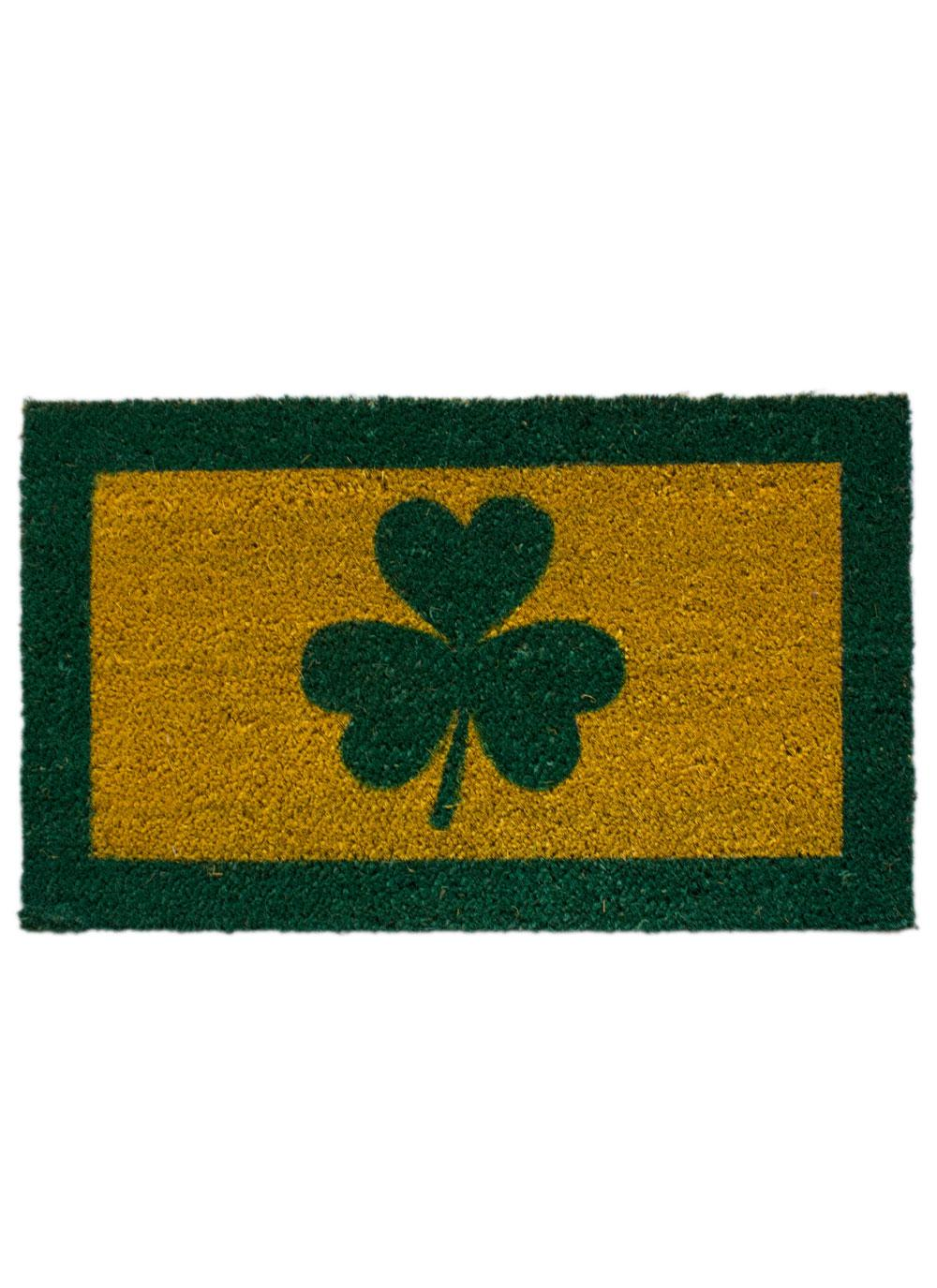 Shamrock Welcome Mat | Blarney