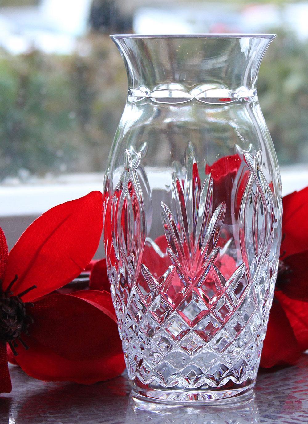 Waterford Crystal Granville 6 Vase Blarney