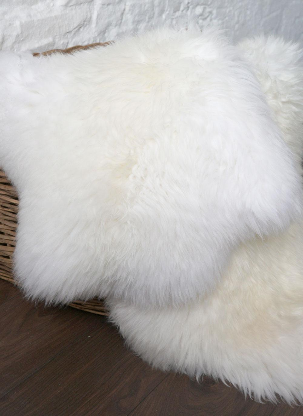 Irish Sheepskin Rug Double Blarney