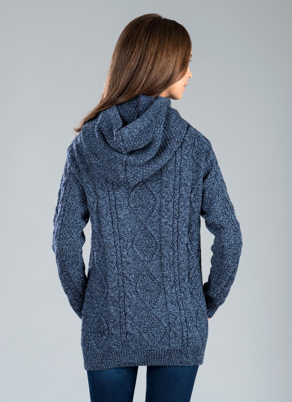 Womens Blue Sweater