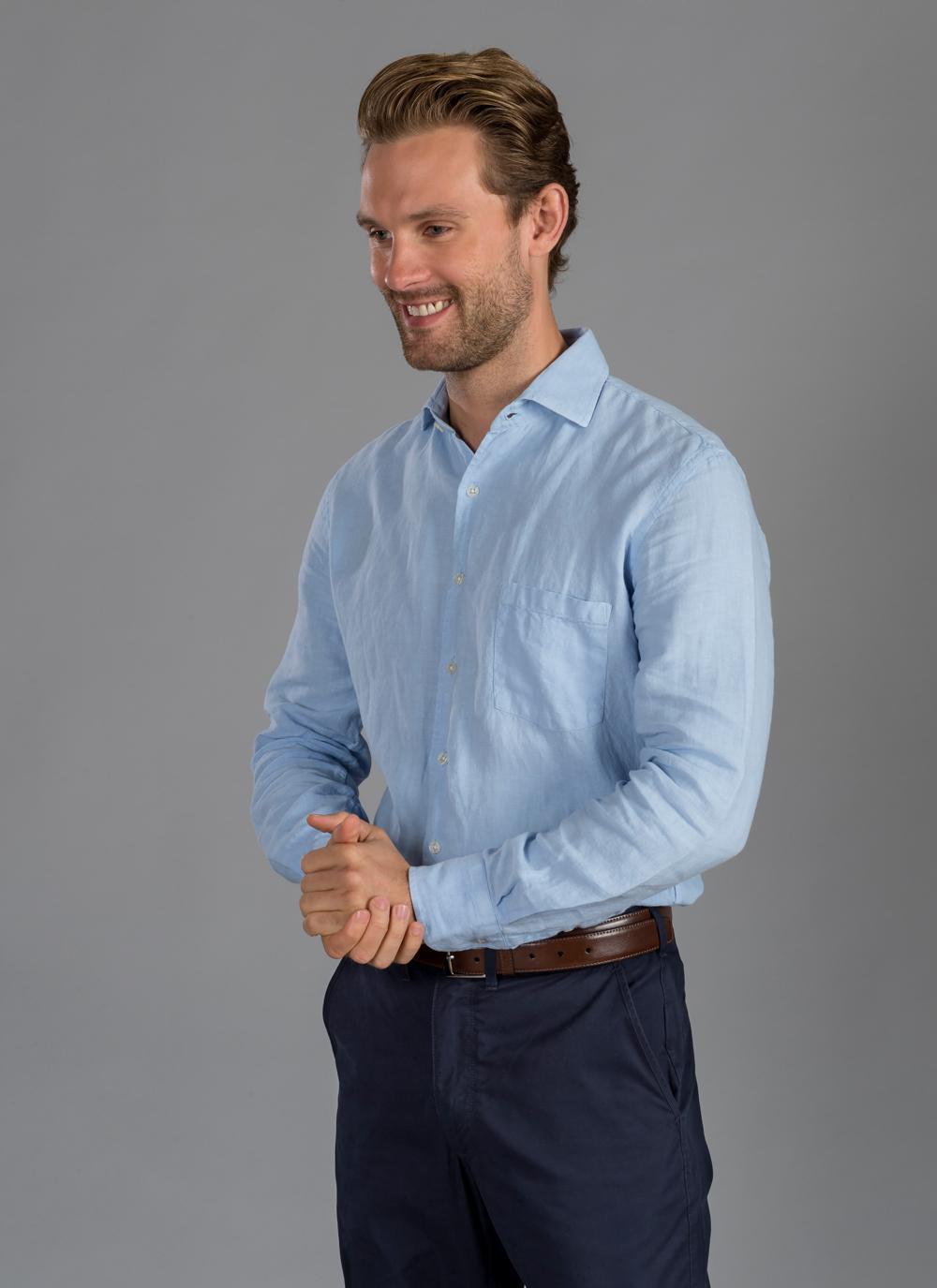 Men\'s Shirt Irish Linen   Blarney