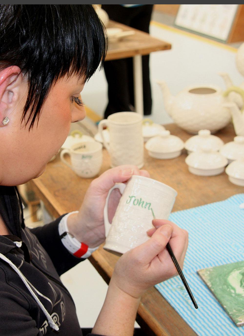 Belleek China is handcrafted in Ireland