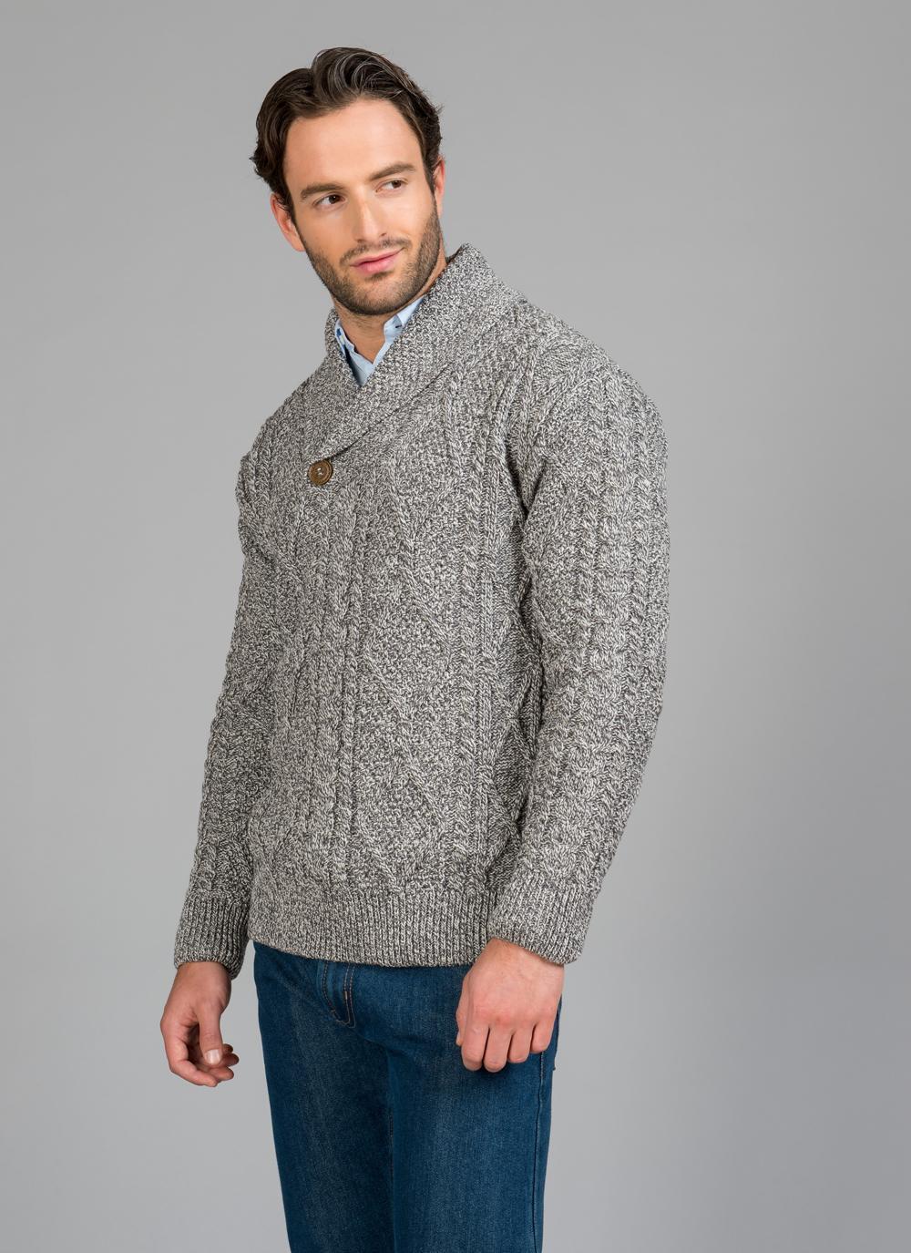 Shawl Neck Sweater