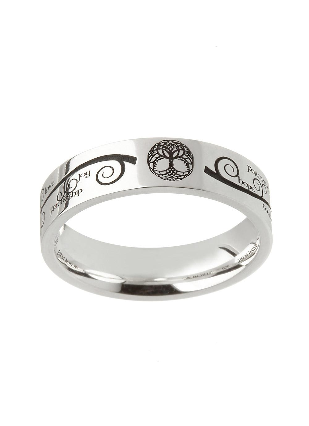 The many meanings of the tree of life blarney blog boru handcrafted tree of life etched ring biocorpaavc Gallery