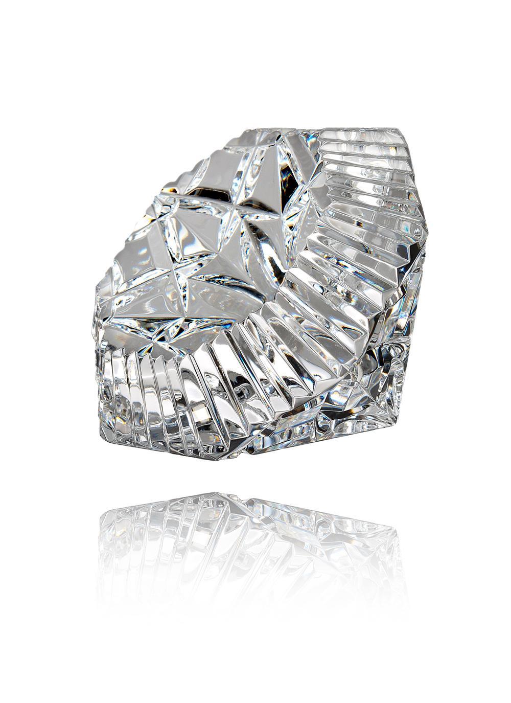 Waterford Crystal Lismore Jubilee Diamond Paperweight