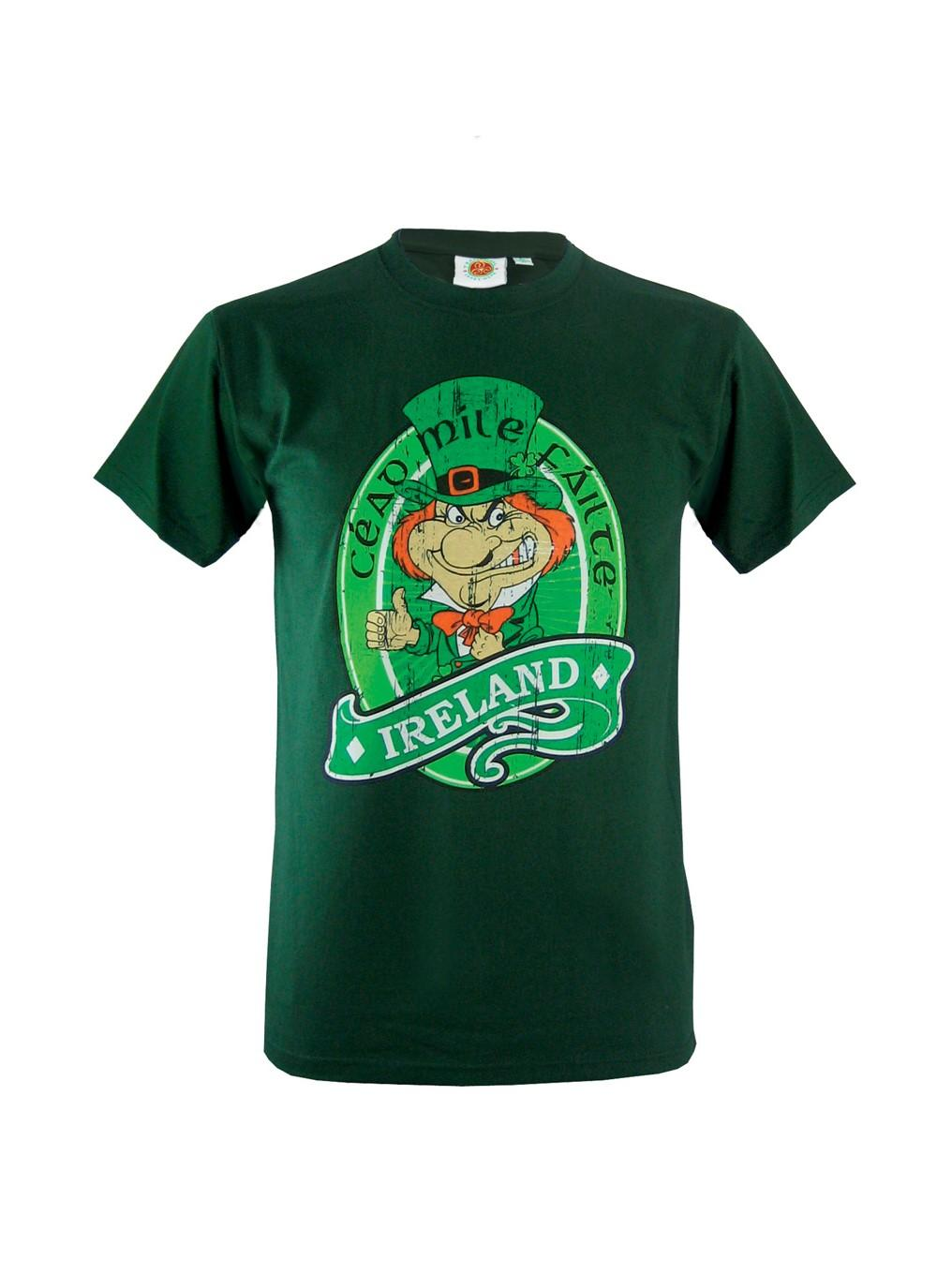 Cead mile failte t shirt blarney for Miles t shirt shop