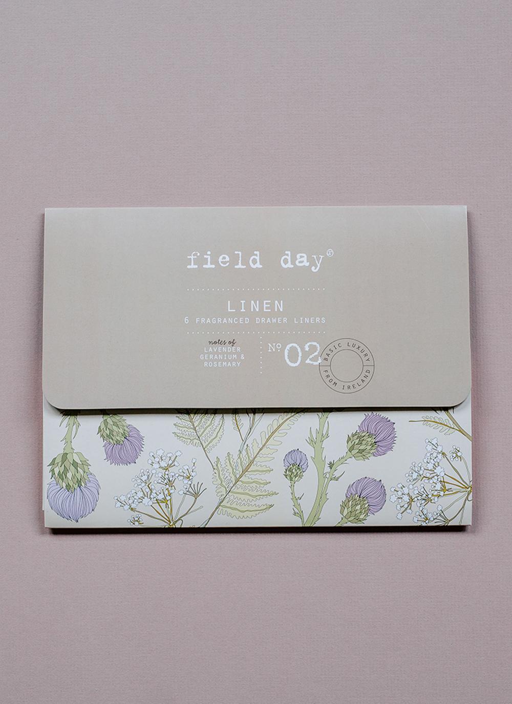 Field Day Linen Drawer Liners Blarney