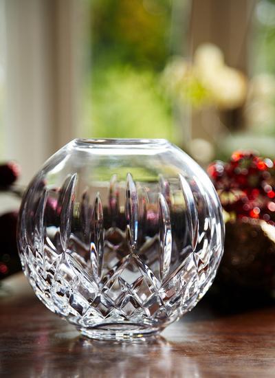 Waterford Crystal Lismore Rose Bowl Blarney Woollen Mills