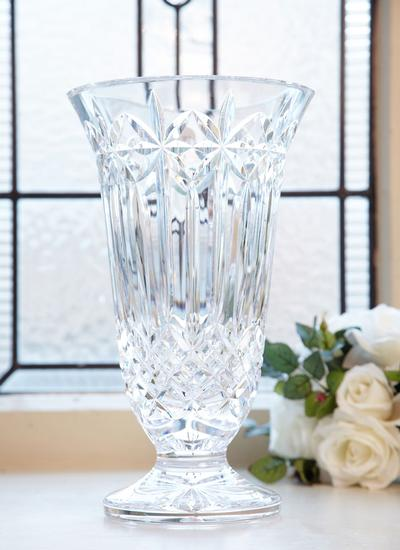 Waterford Crystal Starburst 12 Inch Vase Blarney