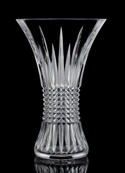 Waterford Crystal Lismore Diamond 12 Inch Vase Blarney