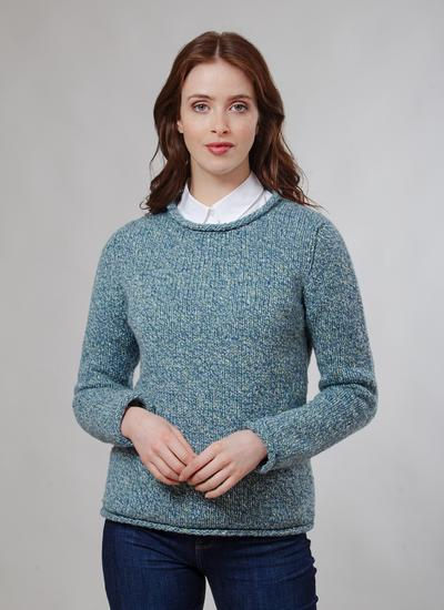 b560ddc35 Fisherman Roll Neck Sweater