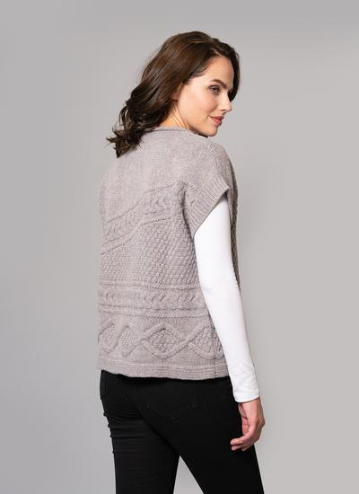 cb31897458 Fisherman Lambswool Aran Cable Sweater
