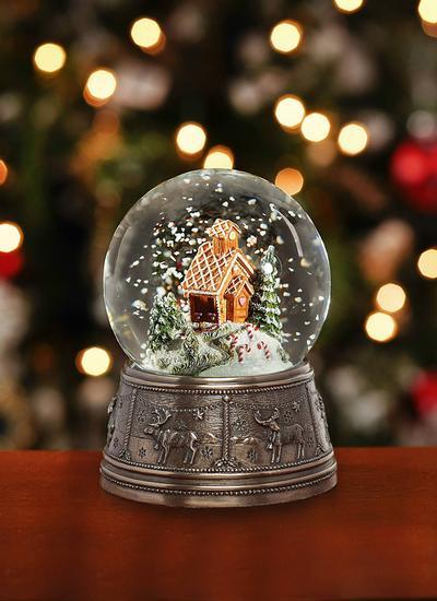 Genesis Gingerbread House Snow Globe Blarney